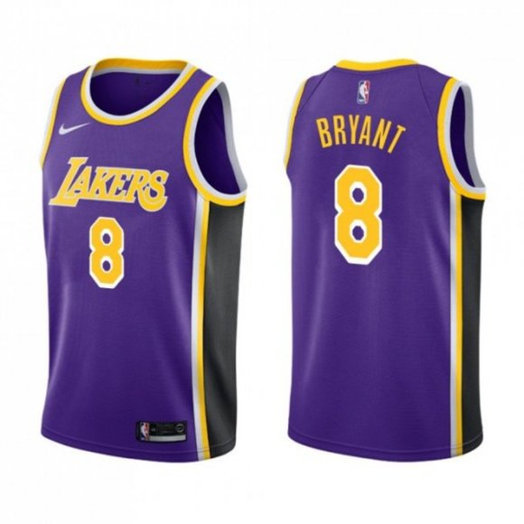 Nike Shirts | 8 Kobe Bryant Purple Jersey Statement Edition | Poshmark